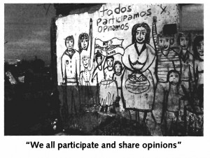 we all participate and share opinions